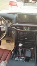 Lexus LX570 facelift spy photo