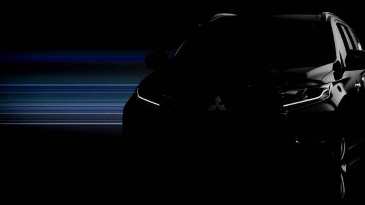 2016 Mitsubishi Pajero Sport / Challenger teaser