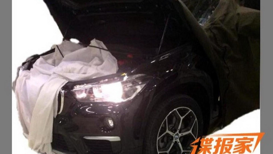2016 BMW X1 front end spied undisguised