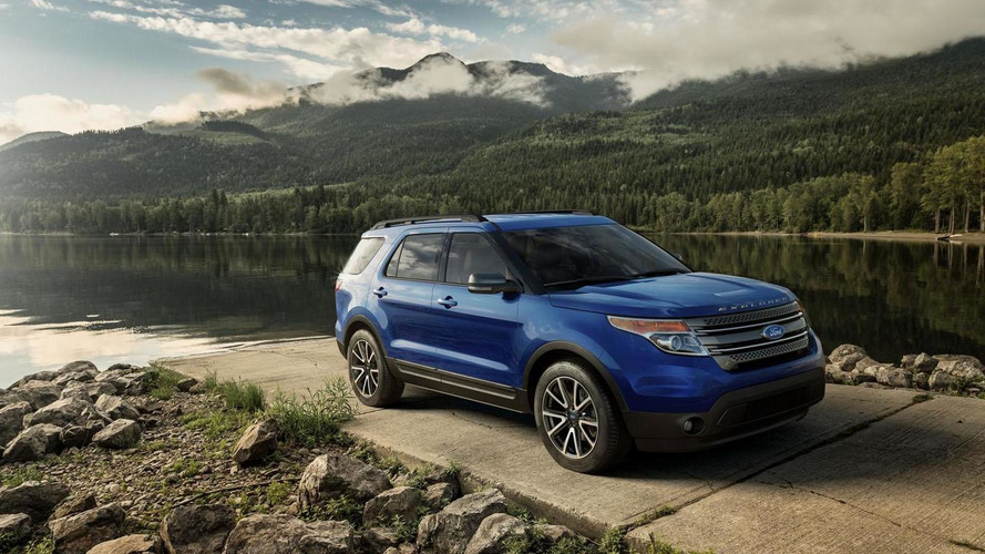 2015 Ford Explorer revealed with new appearance package