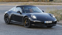 Porsche 911 Targa facelift spied ahead of 2015 reveal