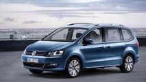 2015 Volkswagen Sharan lands in Geneva with new engines