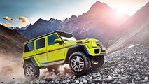 Mercedes-Benz G500 4x4 concept makes world premiere in Geneva