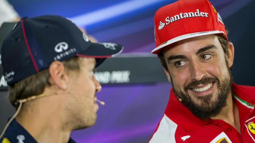 Alonso thinks Vettel will need 'luck' at Ferrari