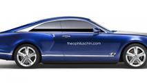 Bentley Grand Coupe / Brooklands rendering