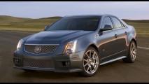 Poderoso Cadillac CTS-V com motor V8 de 564cv custa R$ 469 mil no Brasil