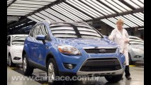 Na Europa: Ford inicia produção do seu novo utilitário esportivo Kuga