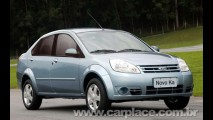 Especulação 2: Novo Ford KA Sedan pode ser lançado na Índia ainda este ano