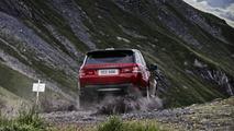 Range Rover Sport face à la Piste Inferno en Suisse