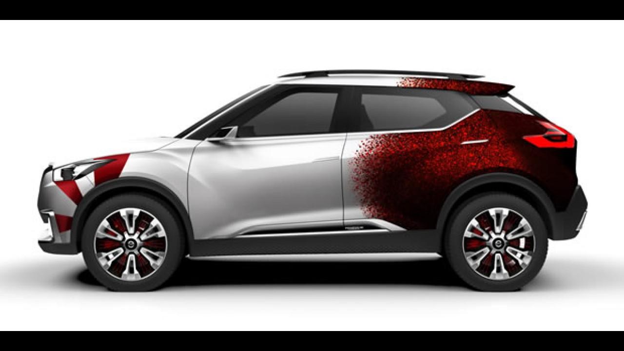 Nissan Kicks será vendido primeiro no Brasil, mas vindo do México