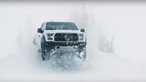 Ken Block in 2017 Ford F-150 Raptor