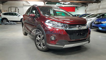 Honda WR-V flagra