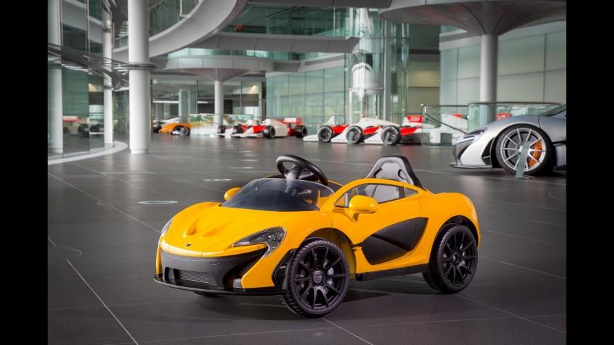 McLaren apresenta seu primeiro conversível elétrico... para crianças