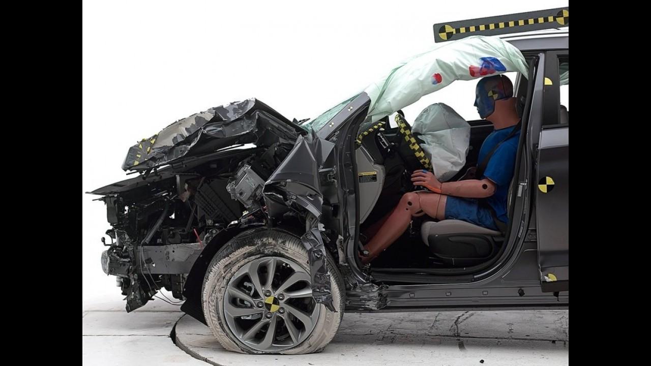 Novo Tucson recebe o Top Safety Pick+ e se torna o mais seguro do segmento
