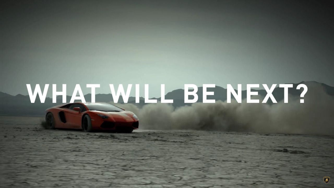 Lamborghini screenshot from teaser video
