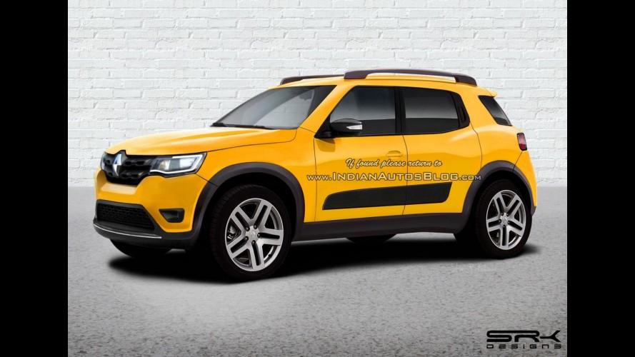 Renault trabalha em projeto de SUV derivado do Kwid - veja projeção