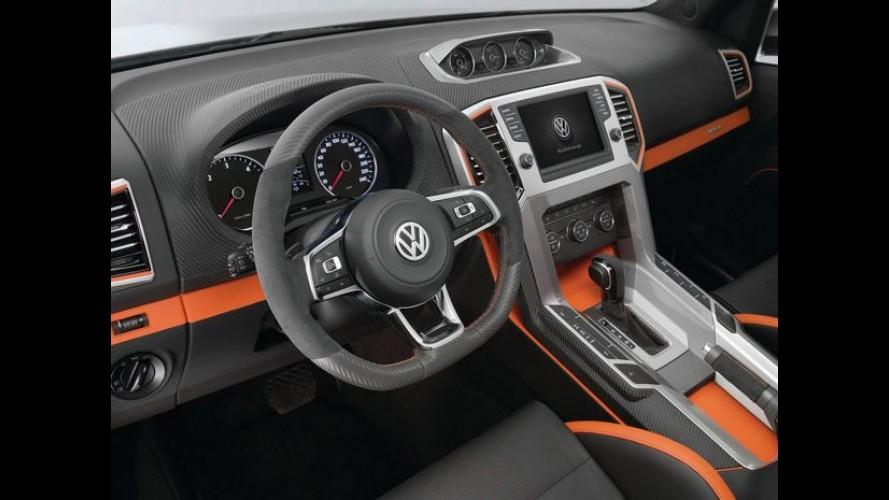 VW Amarok 2017 estreia no meio do ano com facelift e mais tecnologia