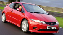 Jenson Button in New Civic Type R