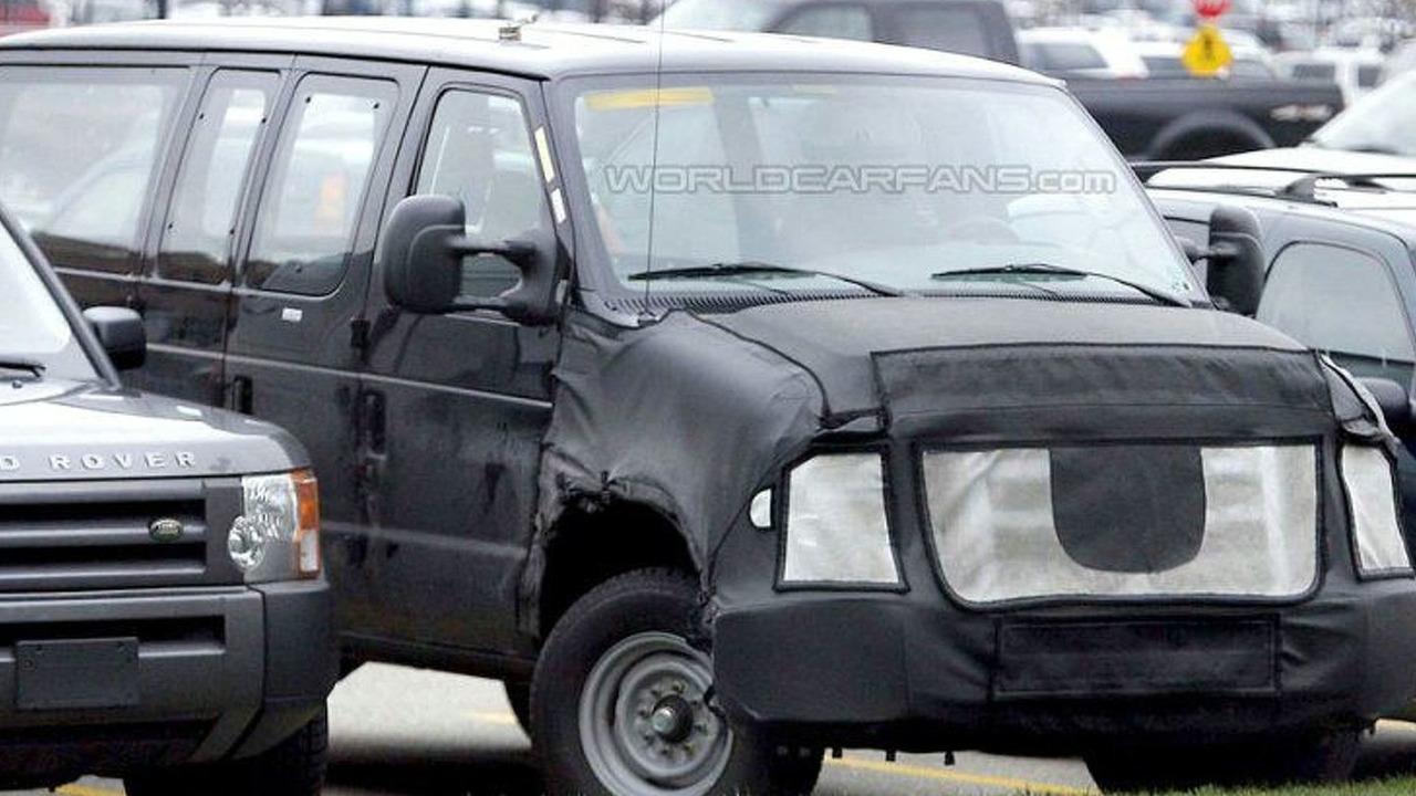 2008 Ford Econoline spy
