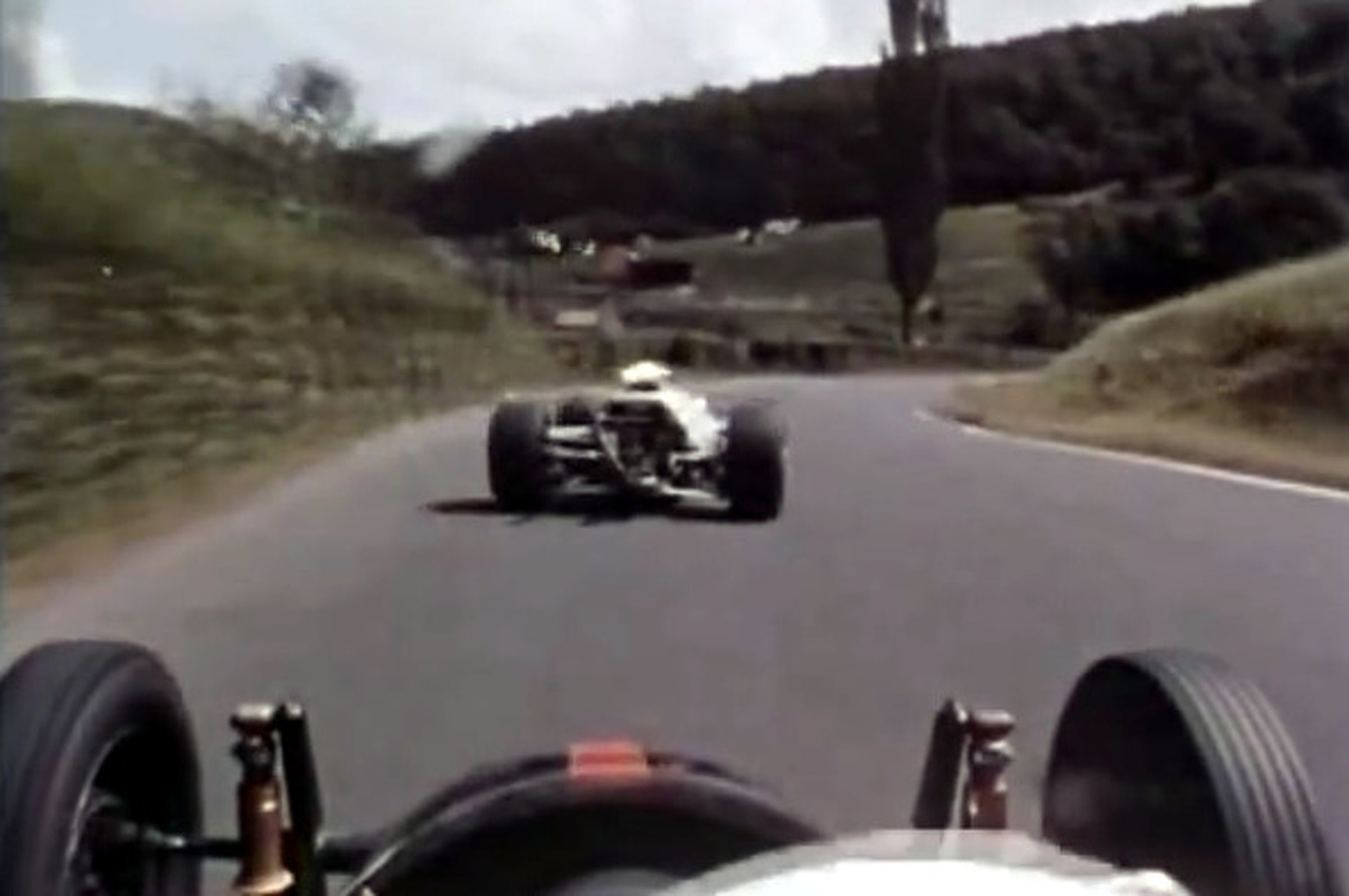 1960's F1 Dash Cam of Nurburgring is an Epic Chase! [video]