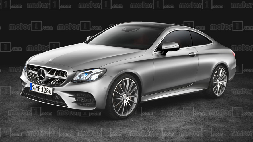 2018 Mercedes E-Class Coupe gets rendered