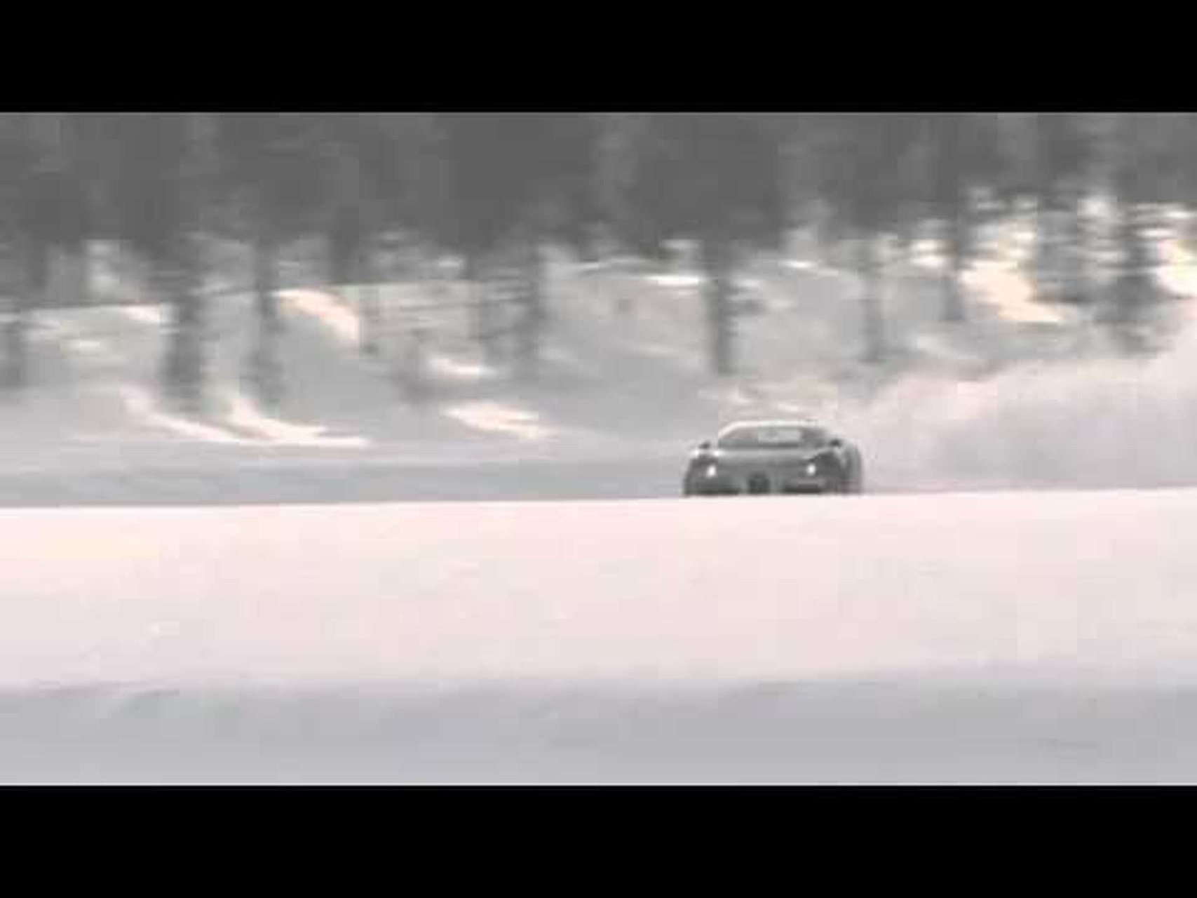 Veyron snow drift