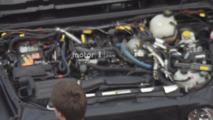 2018 Jeep Wrangler Hurricane four-cylinder engine spied