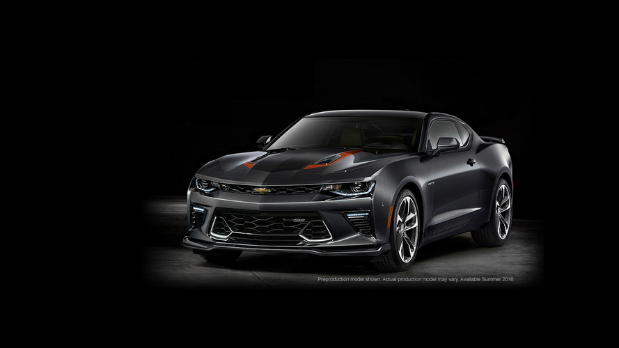 Chevy Camaro 50th Anniversary Edition announced