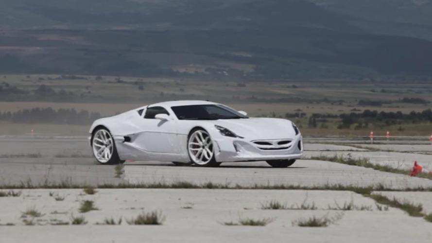 Croatian military loans runway to Rimac for supercar testing