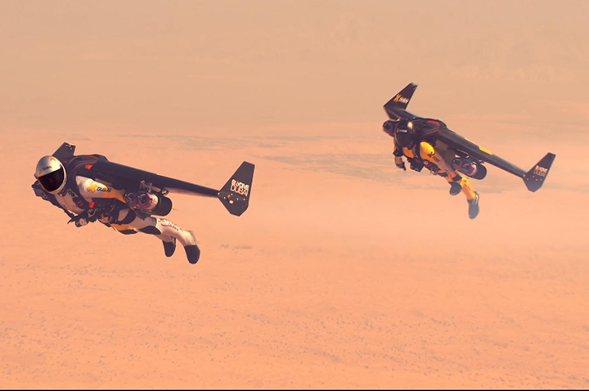 See Daredevil Jetman Take Human Flight to New Levels