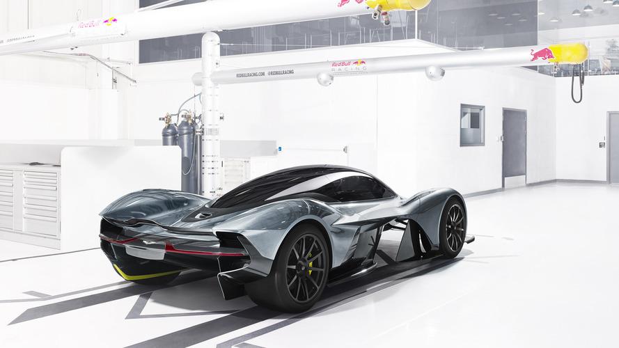Aston Martin-Red Bull hiper otomobilinin detayları ortaya çıkıyor