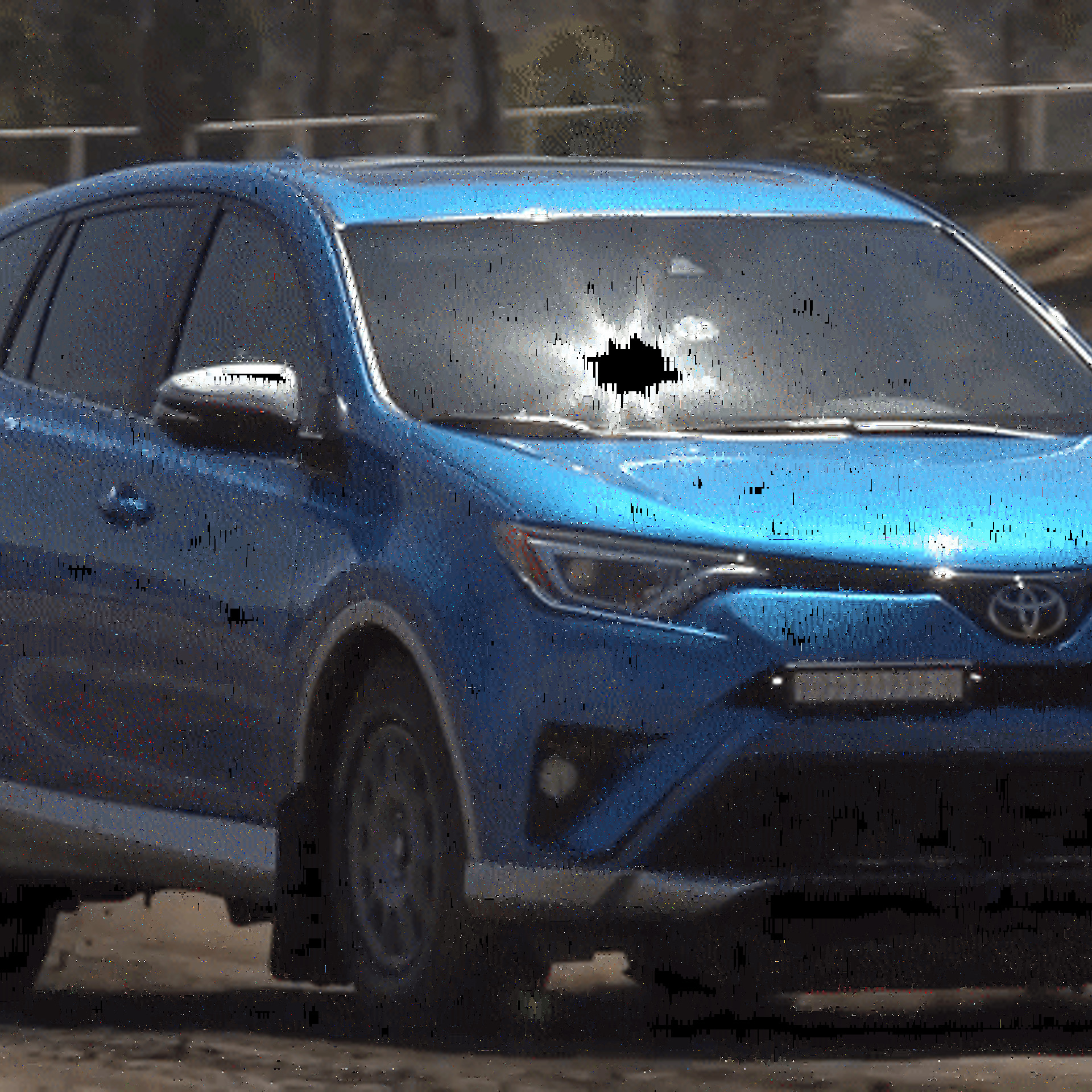 Kicking up dirt and conquering corners in a rally ready toyota rav4 publicscrutiny Images