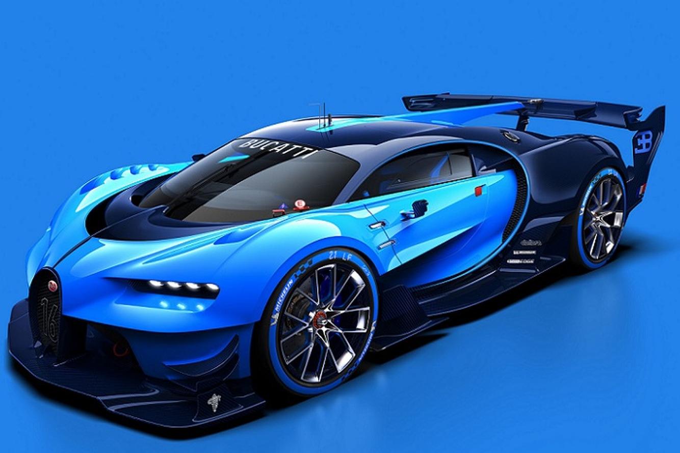 Bugatti's Vision GT Concept Sounds Like Dsytopian Hellfire
