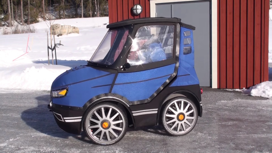 Check out this fun bicycle-car from Sweden