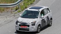 Spyshot de la Citroën C3 Picasso 2017