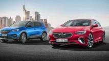 Opel Insignia GSi ve Grandland X