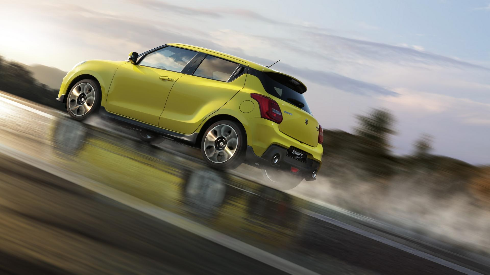 All New 2018 Suzuki Swift Sport Unveiled In Frankfurt Weighs Just 2000 Transmission Sd Sensor The Had Its Global Premiere At Motor Show Today Third Generation Features A Lower Wider Stance