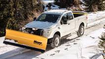 Nissan Titan XD Snow Plow Package