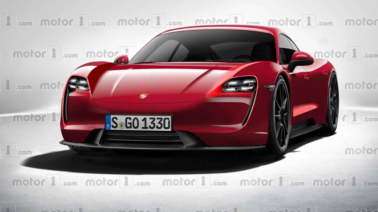 2020 Porsche Mission E render