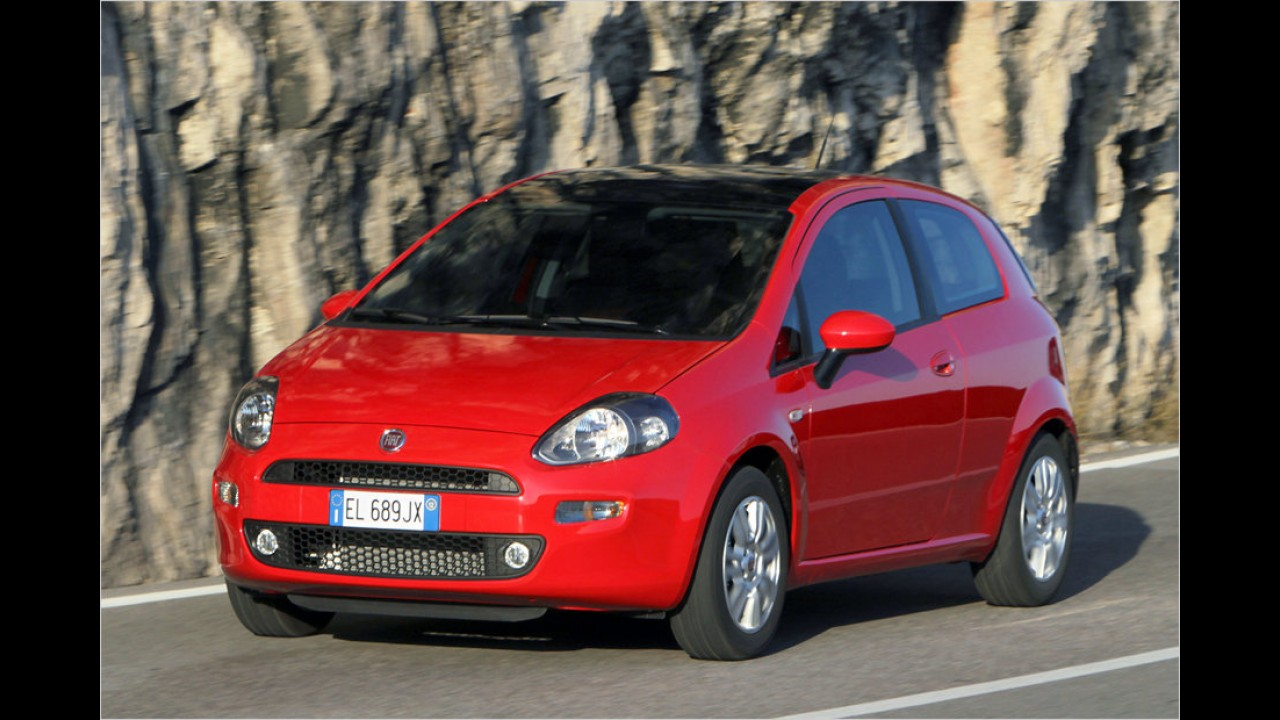 Fiat Punto 1.4 8V Natural Power (ab 17.390 Euro)