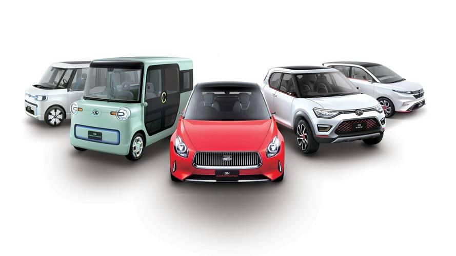 2017 Daihatsu Tokyo Motor Show Concepts