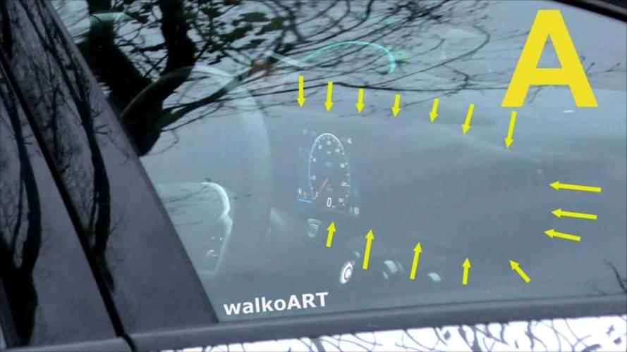 Une instrumentation 100 % digitale pour la Mercedes Classe A
