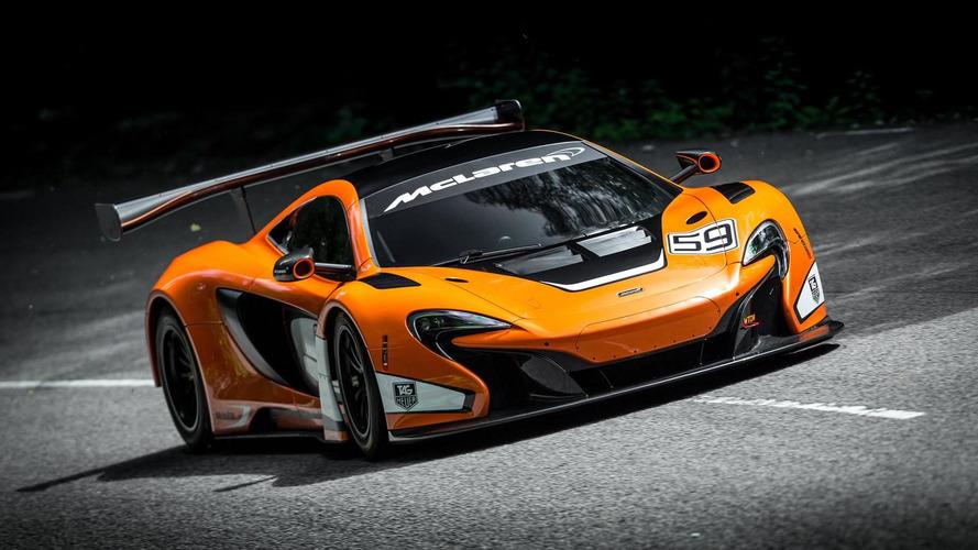 McLaren 650S GT3 goes official at Goodwood FoS
