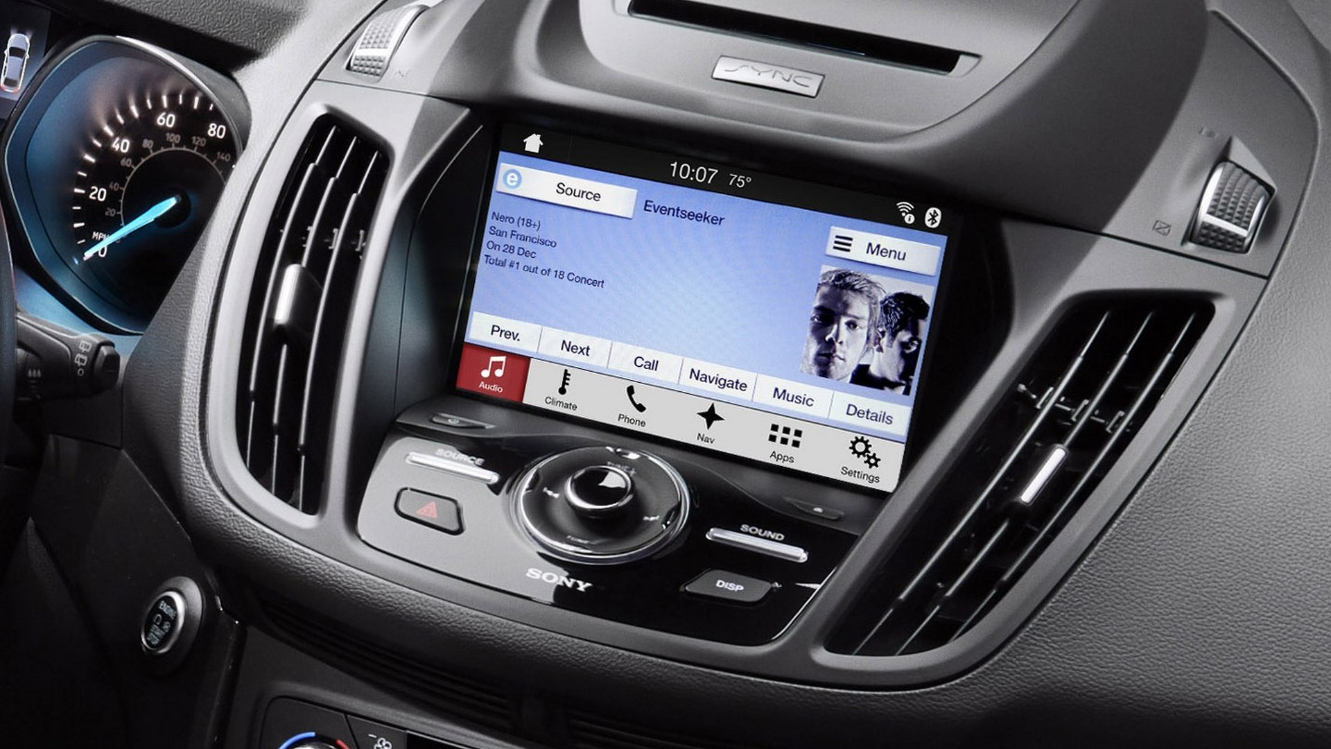 ford makes android auto apple carplay available for 2016 models. Black Bedroom Furniture Sets. Home Design Ideas