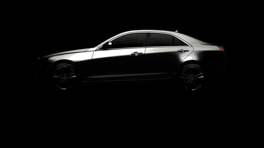 2013 Cadillac ATS teased
