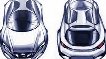 Subaru Hybrid Tourer Concept design sketch, 10.12.2009