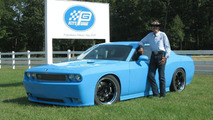 Richard Petty's Garage Tunes Dodge Challenger for Charity