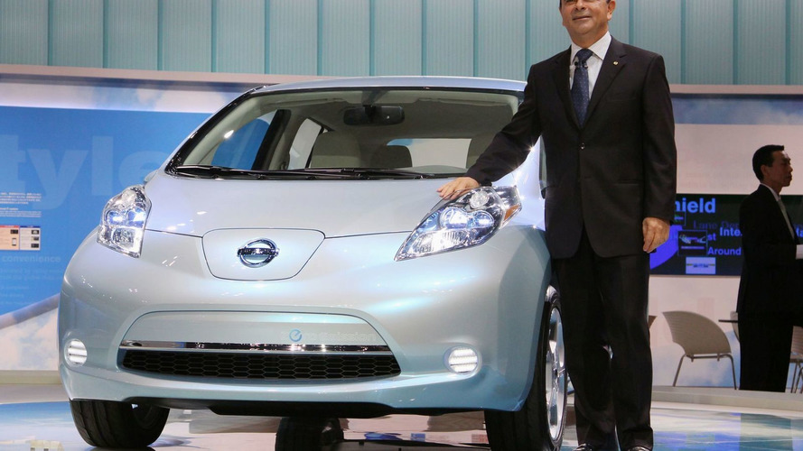 Nissan Leaf electric vehicle sold out in U.S.