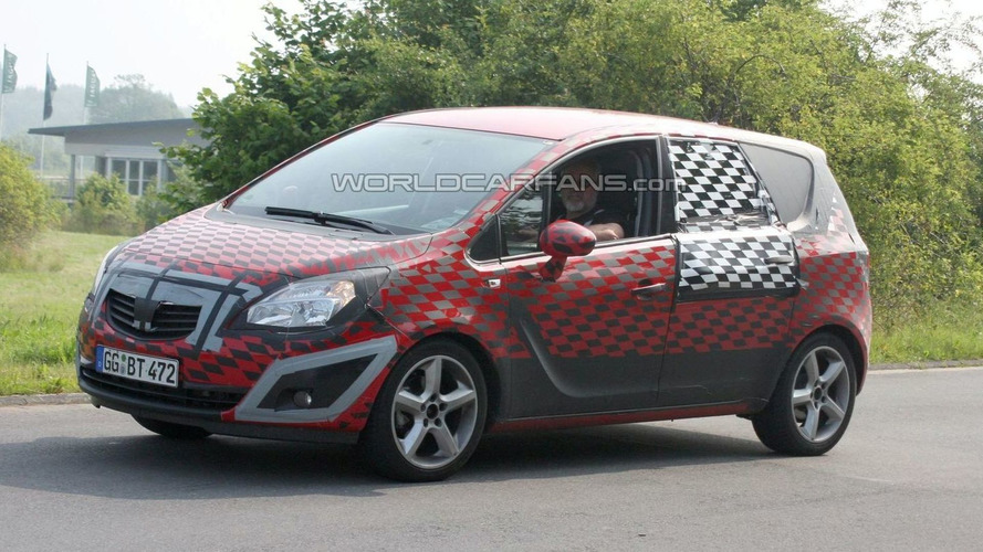New Opel Meriva hits the Ring