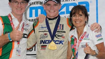 Conor Daly with Father Derek and mother Rhonda, 640, 01.01.2011